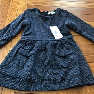 Brand new Jean Bourget black and white dress sz 2